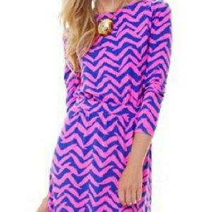 Lilly Pulitzer Cinched Waist Dress XS
